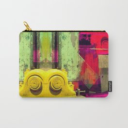Industrial Abstract Twins Carry-All Pouch