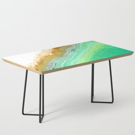 Druze green agate Coffee Table