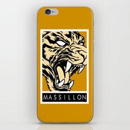 MASSILLON TIGER iPhone Skin