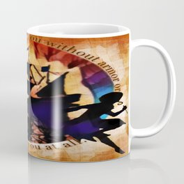 Kaz and Inej - armor Coffee Mug