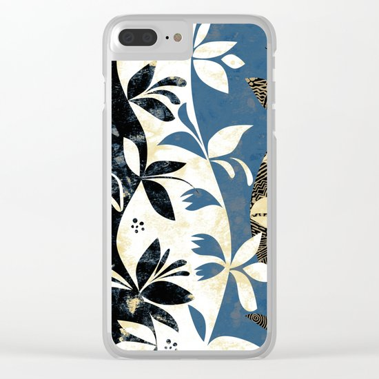Climbing Plants Clear iPhone Case