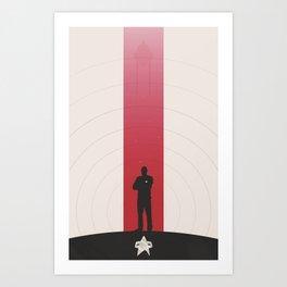 Sisko Art Print