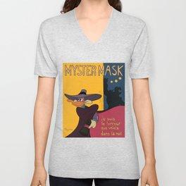 Myster Mask (Darkwing Duck) Unisex V-Neck