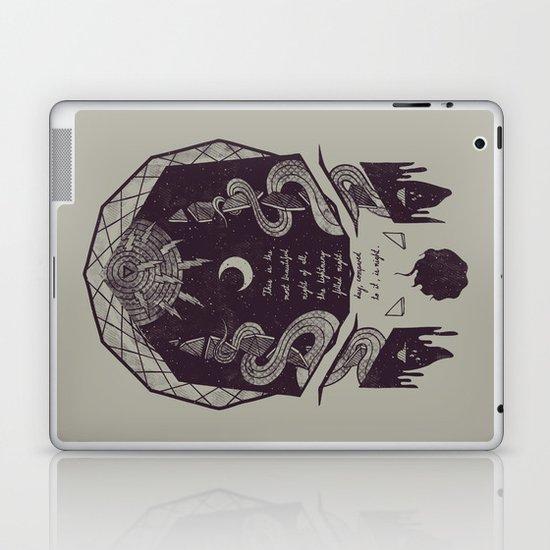 The Lightning-Filled Night Laptop & iPad Skin