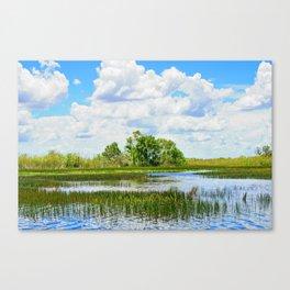 Everglades Reflections Canvas Print