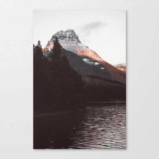 Sunset Mountain #society6 #buyart Canvas Print