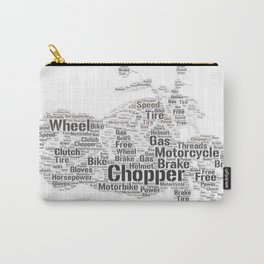 Word Chopper Carry-All Pouch