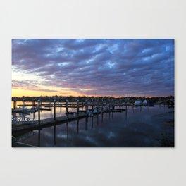 Winthrop Sunset Canvas Print