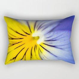 Pansy Close-up Rectangular Pillow