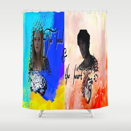 Bellarke Shower Curtain