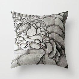 EL TIEMPO VUELA Throw Pillow