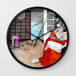 shibari 1 Wall Clock