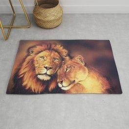 Lions Soulmates Rug