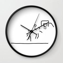 basketball usa basketball player Wall Clock