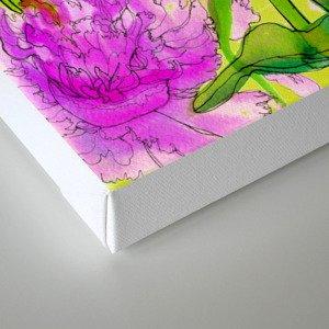Summer Peonies Canvas Print