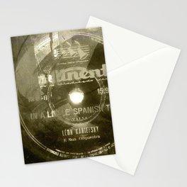 Waltz - Vintage Vinyl Stationery Cards