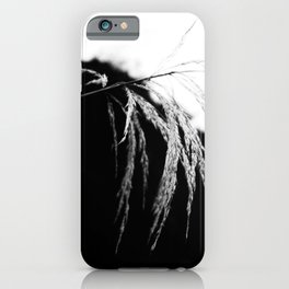 Black and White Gentle Nature  iPhone Case