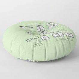 Buchbinden – Merkmale Broschur und Buch im Detail (in German) Floor Pillow