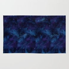 Blue space Rug