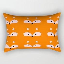 Fox faces Rectangular Pillow