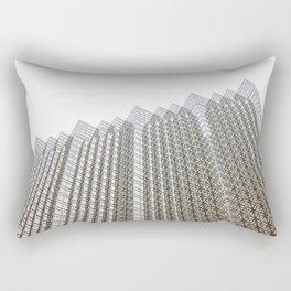 downtown architecture Rectangular Pillow