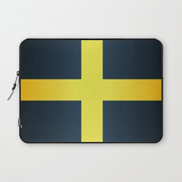 Flag of Saint David Of Wales Laptop Sleeve