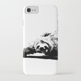 A Smiling Sloth iPhone Case