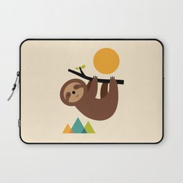 Keep Calm And Live Slow Laptop Sleeve