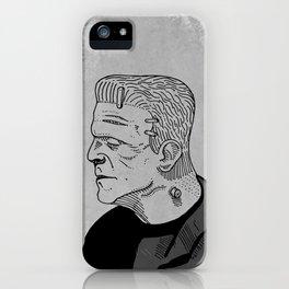 Karloff's Monster iPhone Case