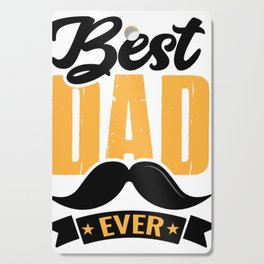 Best Dad Ever Funny Gift for Dad T-Shirt Cutting Board