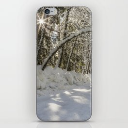 Covered in White iPhone Skin