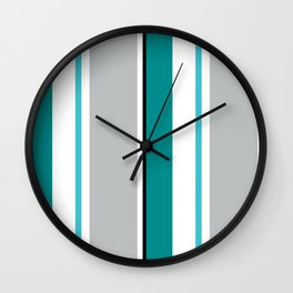 Jib Street Stripes Wall Clock