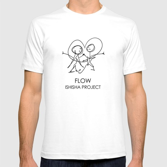 FLOW by ISHISHA PROJECT T-shirt