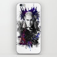 thranduil iPhone & iPod Skins featuring Thranduil by Ryky