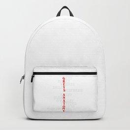 greys anatomy Backpack