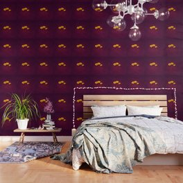 Three Poppies Wallpaper