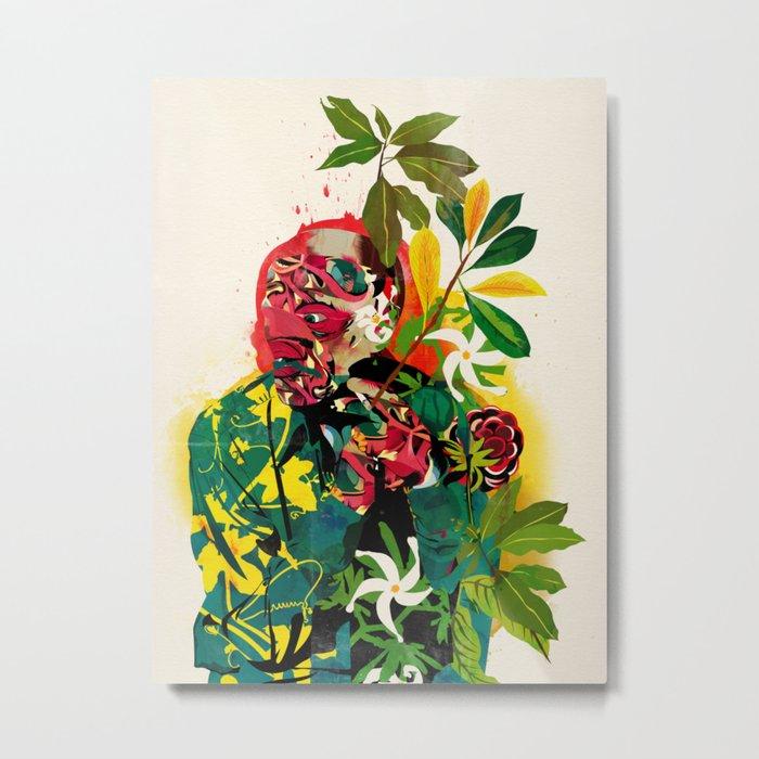 Human Nature 01 Metal Print