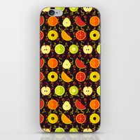 fruit iPhone & iPod Skins featuring FRUIT by badOdds