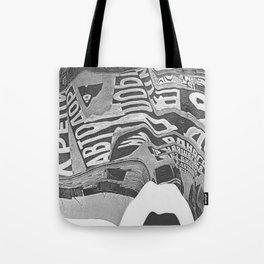 Constructivism Scan Tote Bag