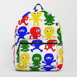 4 Color Cute Ninja Backpack