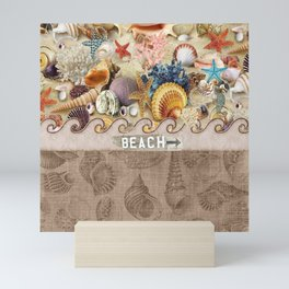 Beachcombers Seashell Paradise Mini Art Print