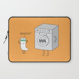 sock eating monster Laptop Sleeve