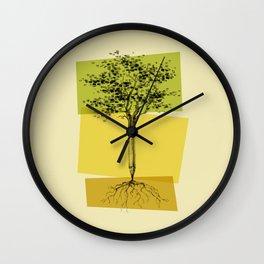 Ideas Don't Grow On Trees Wall Clock