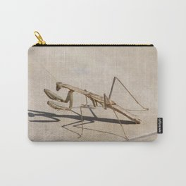 Praying Mantis and Shadow Carry-All Pouch