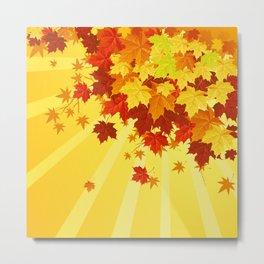 Autumn Leaves 7 Metal Print