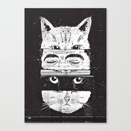 The cats Canvas Print