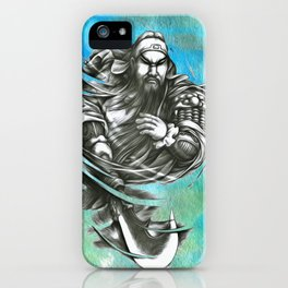 Japanese Samurai Ninja Warrior (12) iPhone Case