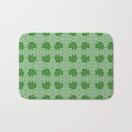 Irish Clover Bath Mat