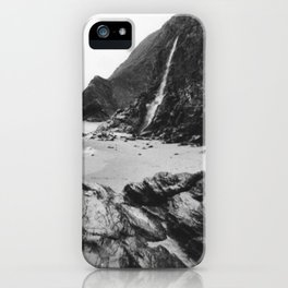 DON'T GO JASON WATERFALLS IN WALES iPhone Case