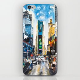 New York, Times Square iPhone Skin